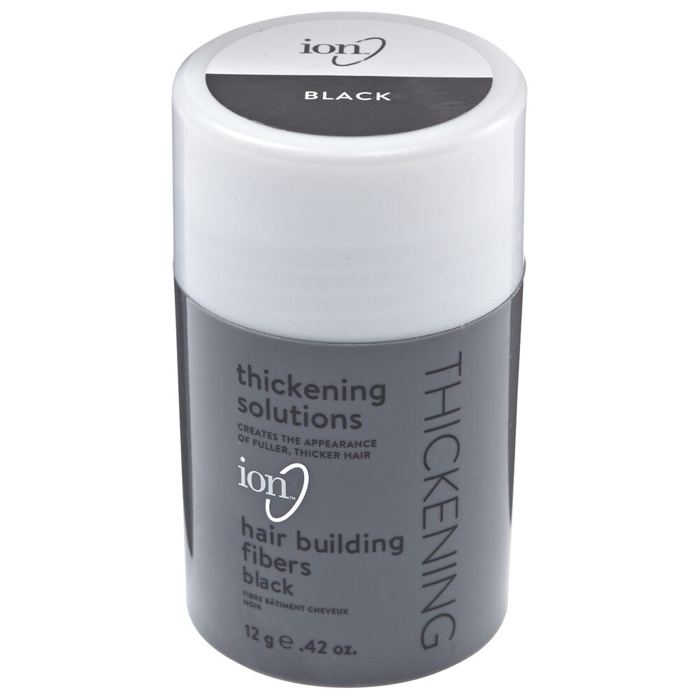 Ion Hair Building Fibers Black