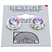 Destine Rhinestone Rivoli Earrings