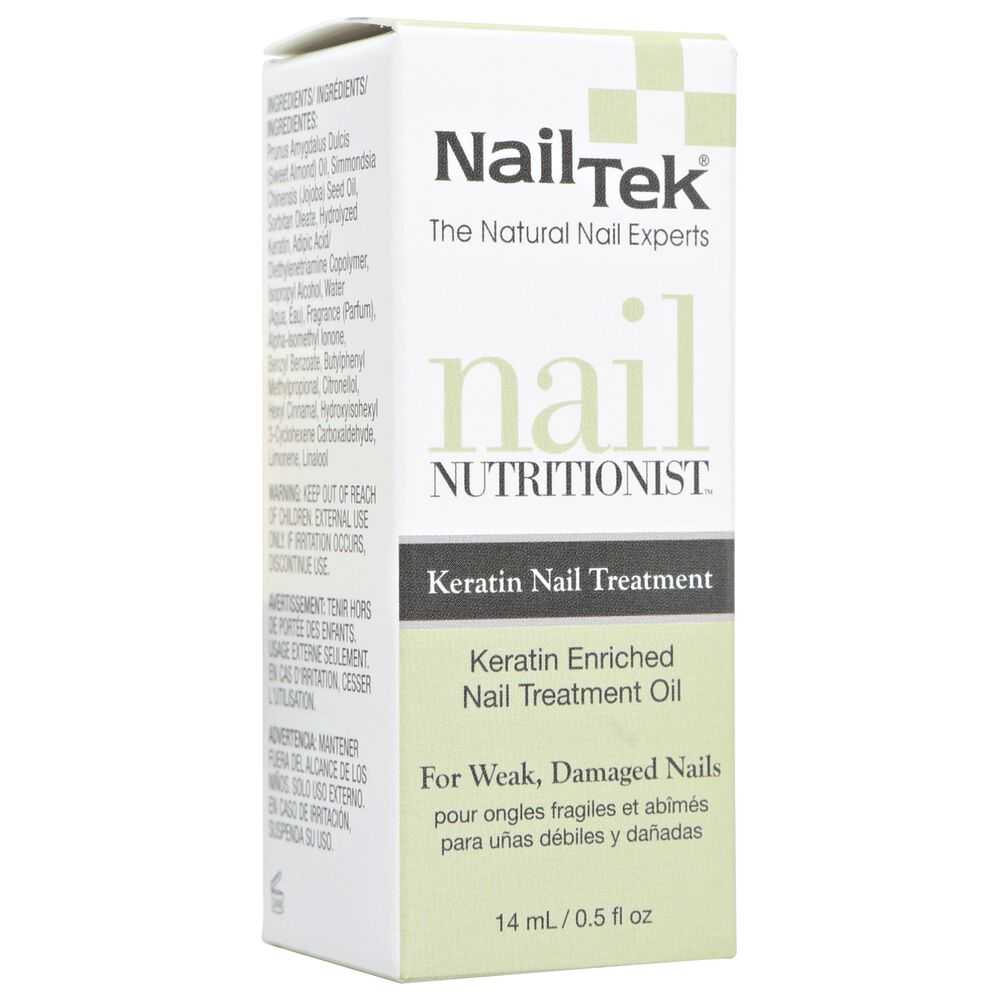 Nail Tek Nail Nutritionist with Keratin Oil