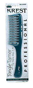 Teal Tangle Tamer Curved Tooth Comb