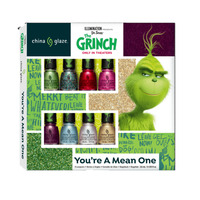 Grinch 8 Piece Micro Mini Nail Lacquer Gift Set