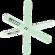 Antibacterial Coarse Green Nail File