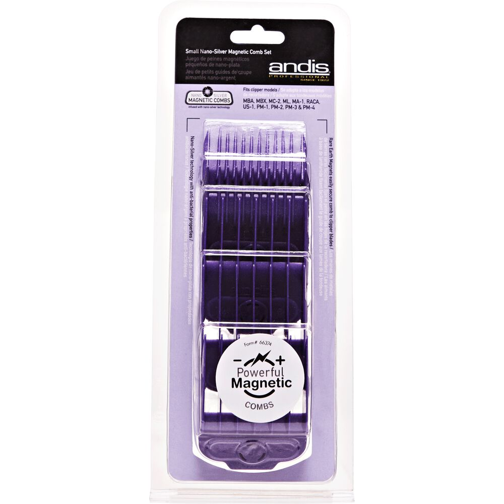 Magnetic Clipper Guide Set 5 Pcs By Andis Hair Clipper