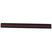 Black & Gray Elastic Headwrap