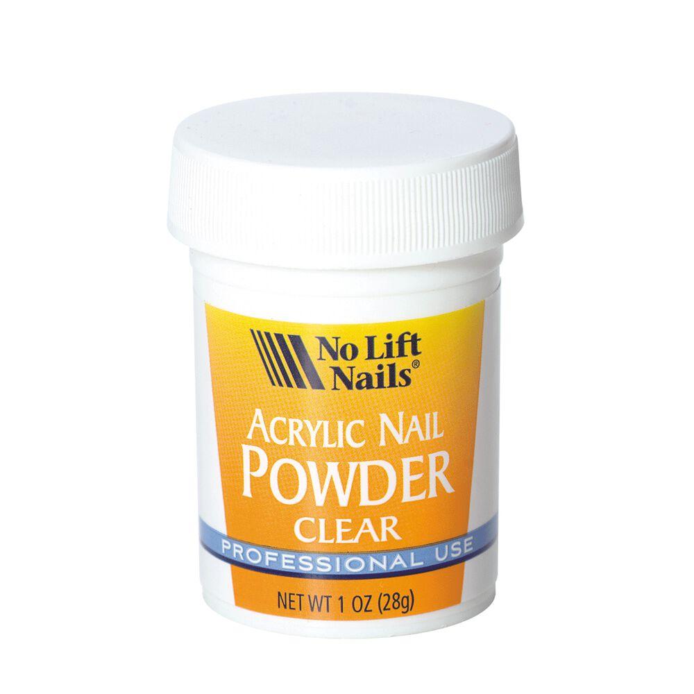 No Lift Clear Organic Polymer Powder