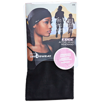Edge Active Wear Black Headband