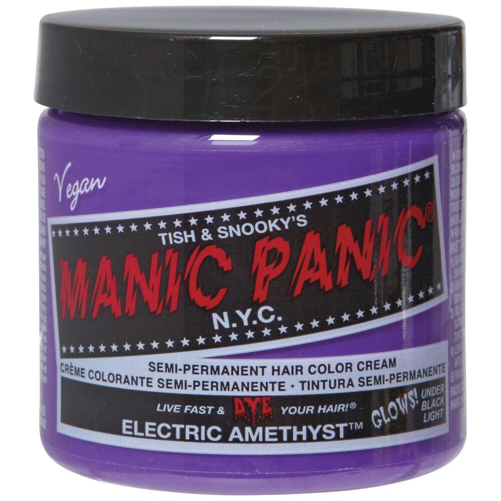 Electric Amethyst Semi Permanent Cream Hair Color
