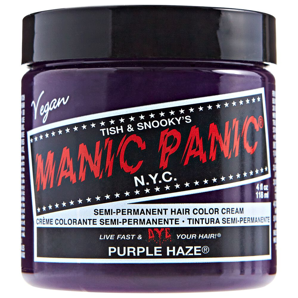 Purple haze manic panic semi permanent hair color sally beauty purple haze semi permanent cream hair color solutioingenieria Gallery