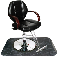 Macee Styling Chair with FREE 3'x5' Black Marbleized Rectangle Mat