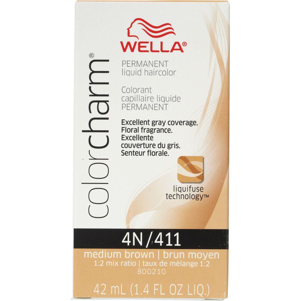 Wella Color Charm Liquid Permanent Hair Colors Permanent Hair