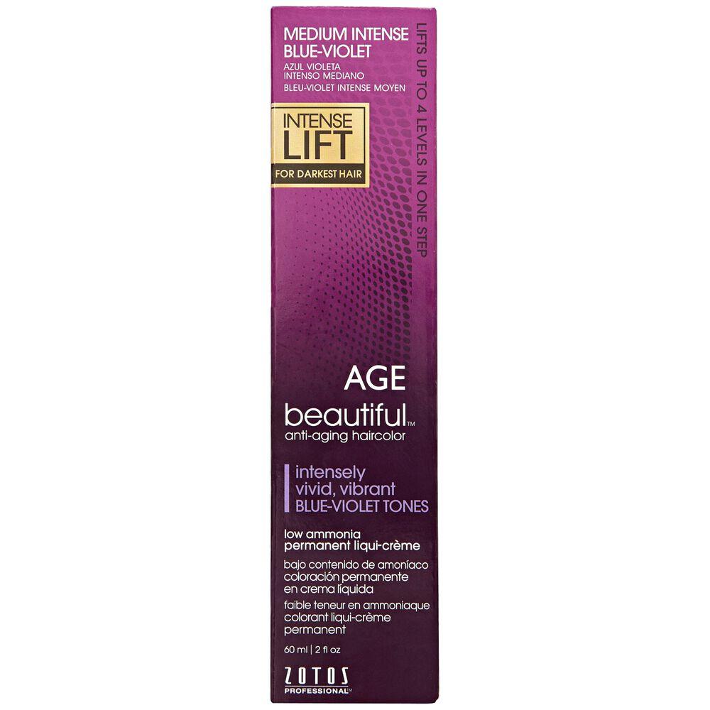 Professional Purple Hair Color 89129 Berina Permanent Dye Cream Violet