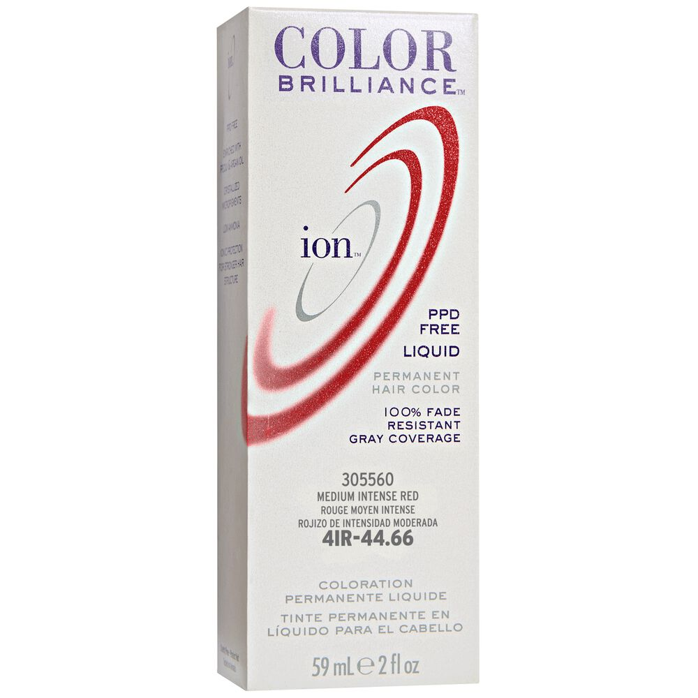 Ion 4ir Medium Intense Red Permanent Liquid Hair Color By Color