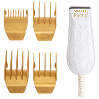 White & Gold Peanut Clipper & Trimmer