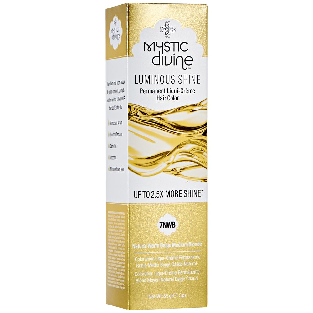 7nwb Natural Warm Beige Medium Blonde Liqui Creme Permanent Hair