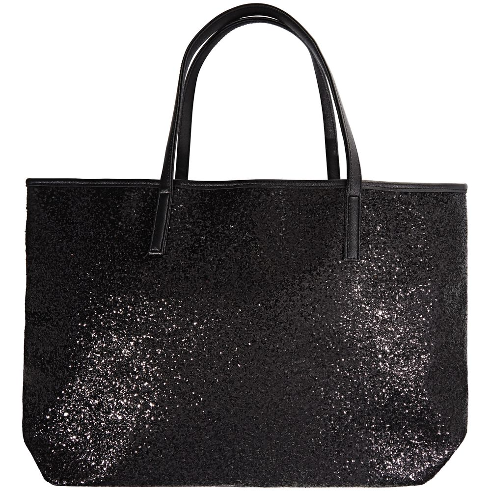 3d4c77cdab3 Images. Holiday Tote Black Glitter