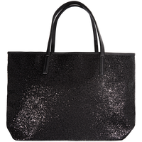 Holiday Tote Black Glitter