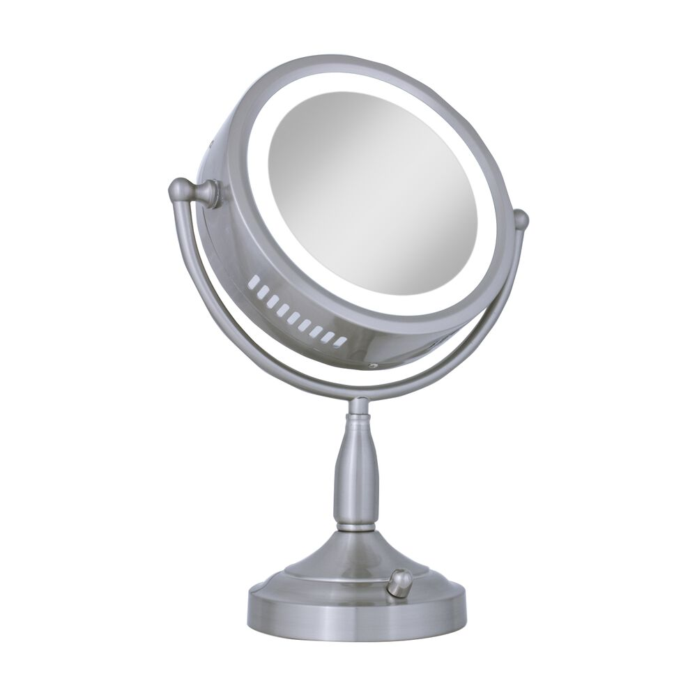 8x 1x Lighted Vanity Makeup Mirror