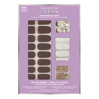 Dashing Diva Ultra Shine Gel Strips Rum Raisin