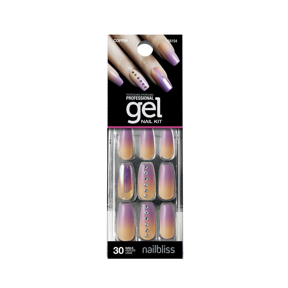 Tropical Paradise Gel Nail Kit - Sally USA