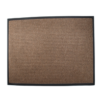 Town N Coutry Entrance Mat 4' X 6' Brown