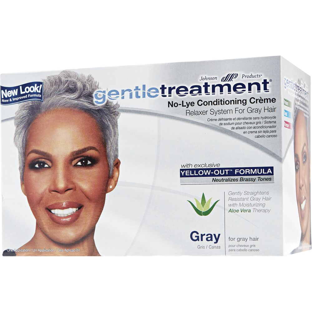 Gentle Treatment No Lye Conditioning Crme Relaxer For Gray Hair