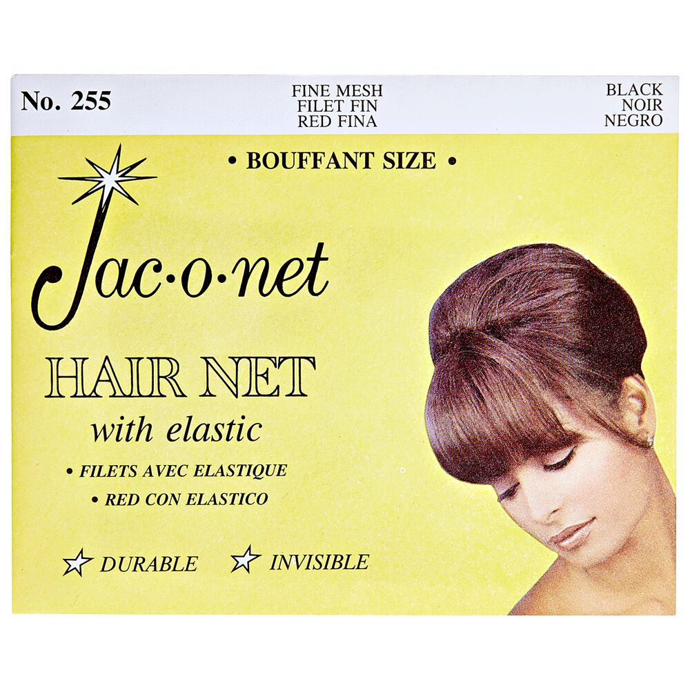 Jac O Net Nylon Bouffant Net Black
