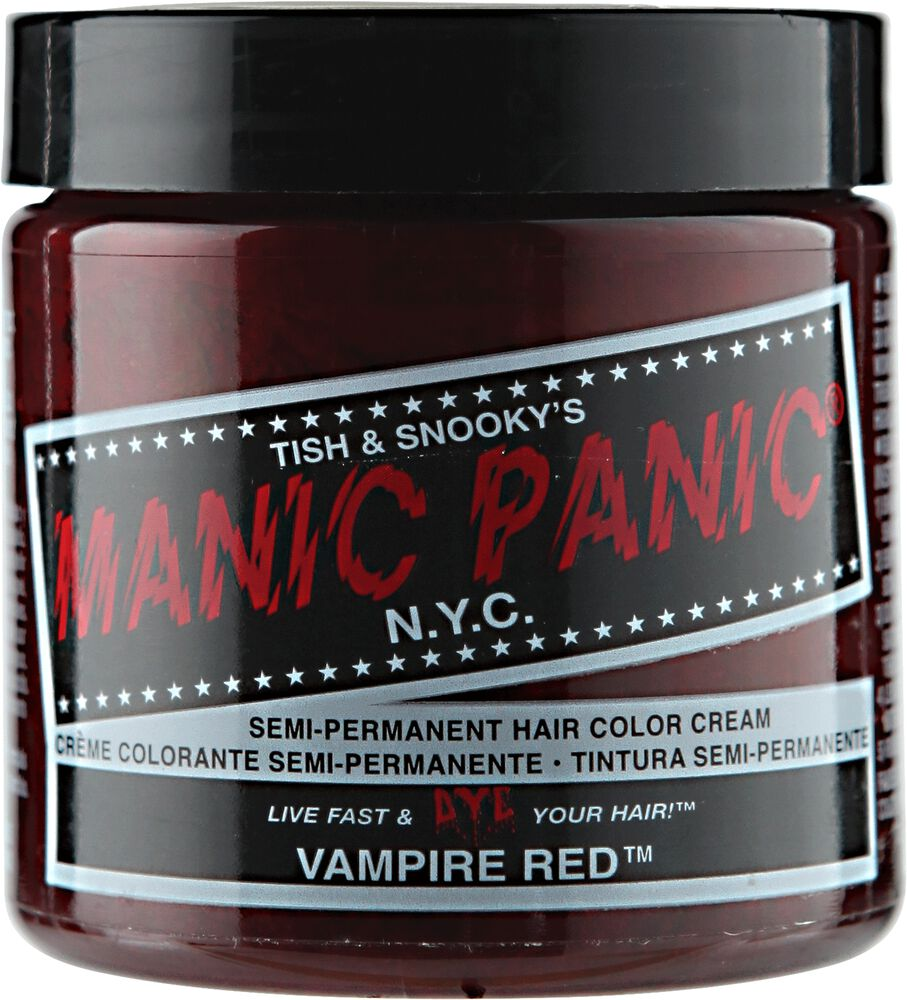 Vampire Red Manic Panic Semi Permanent Hair Color Sally Beauty