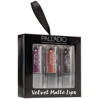 Holiday Velvet Matte Trio Giftset