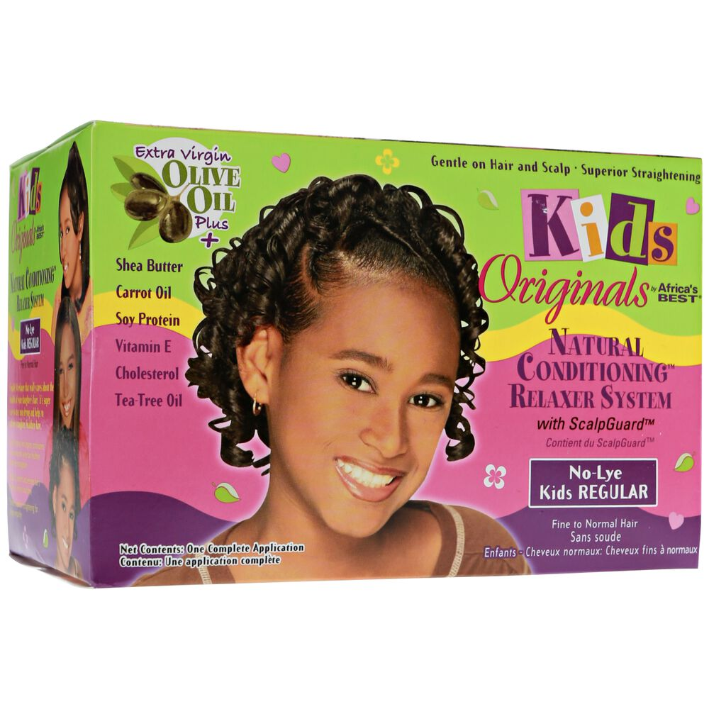 Africas Best Kids Originals No Lye Relaxer System