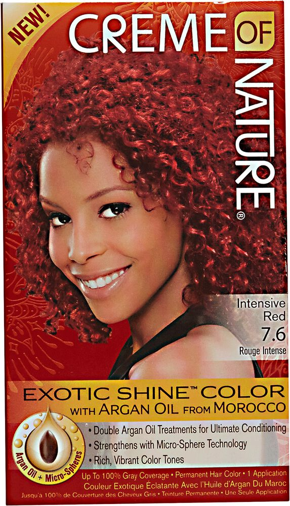 Creme Of Nature Exotic Shine Hair Color Intensive Red