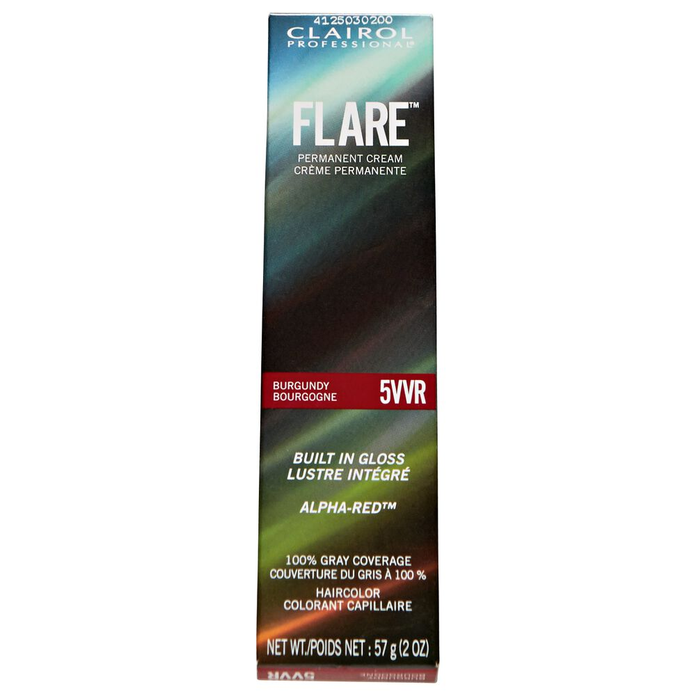 Clairol professional flare permanent cream hair color flare burgundy permanent cream hair color geenschuldenfo Gallery