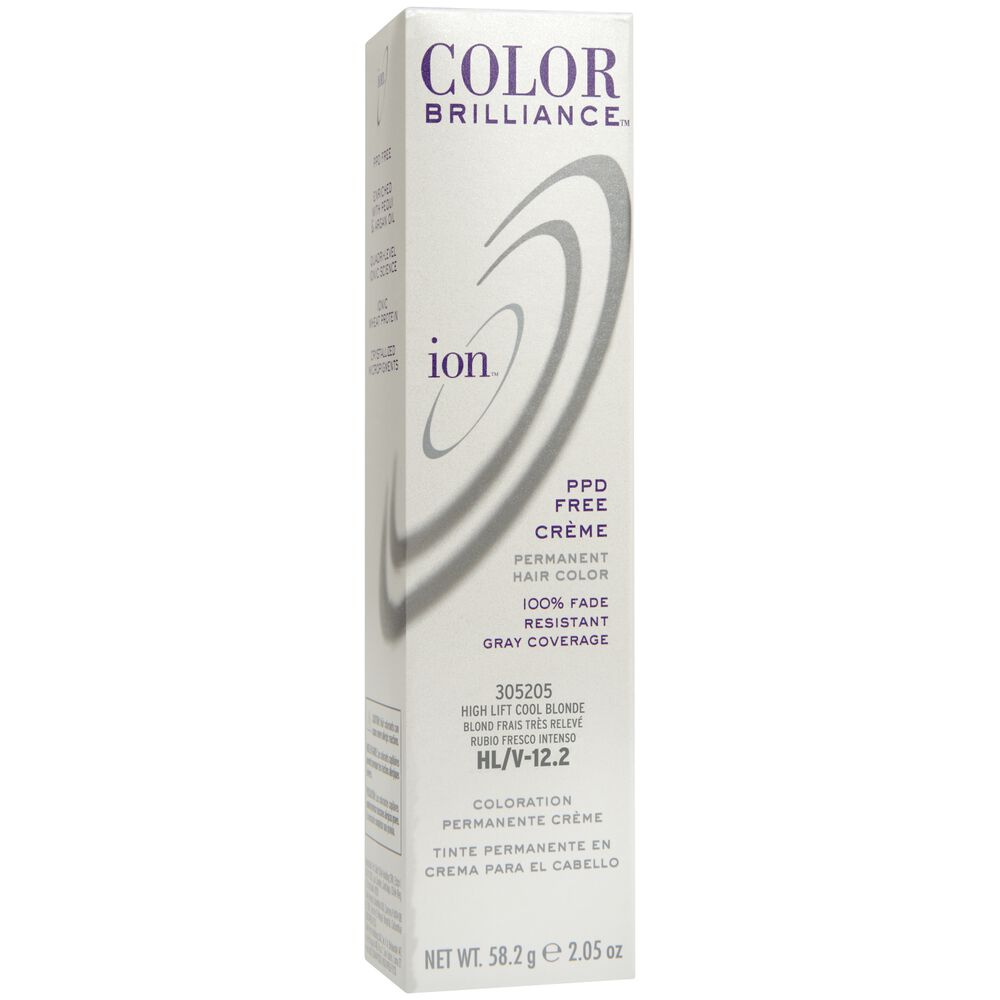 Ion Hl V Hi Lift Cool Blonde Permanent Creme Hair Color By Color