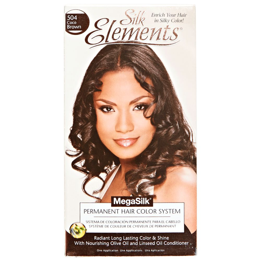 Silk Elements Coco Brown Permanent Hair Color By Megasilk