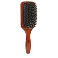 Golden Wood Boar/ Porcupine Paddle Brush