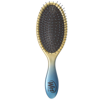 Ombre Detangler Brush Blue & Gold