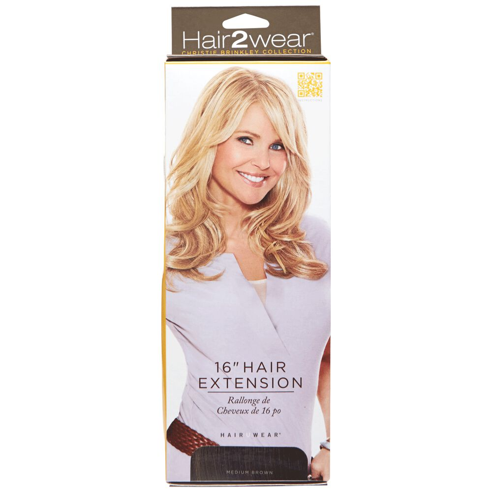 Hair2wear Christie Brinkley Collection 16 Inch Clip In Hair Extension