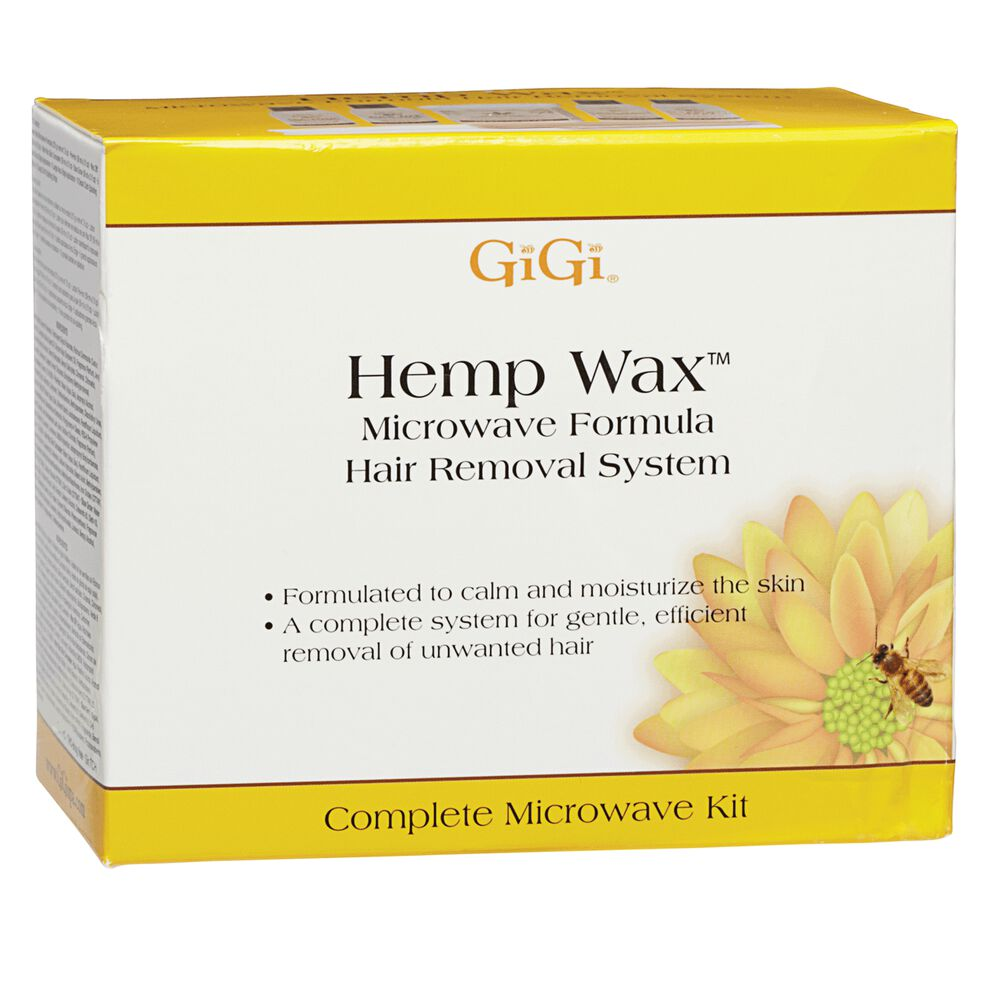 Hemp Wax Microwave Hair Removal System