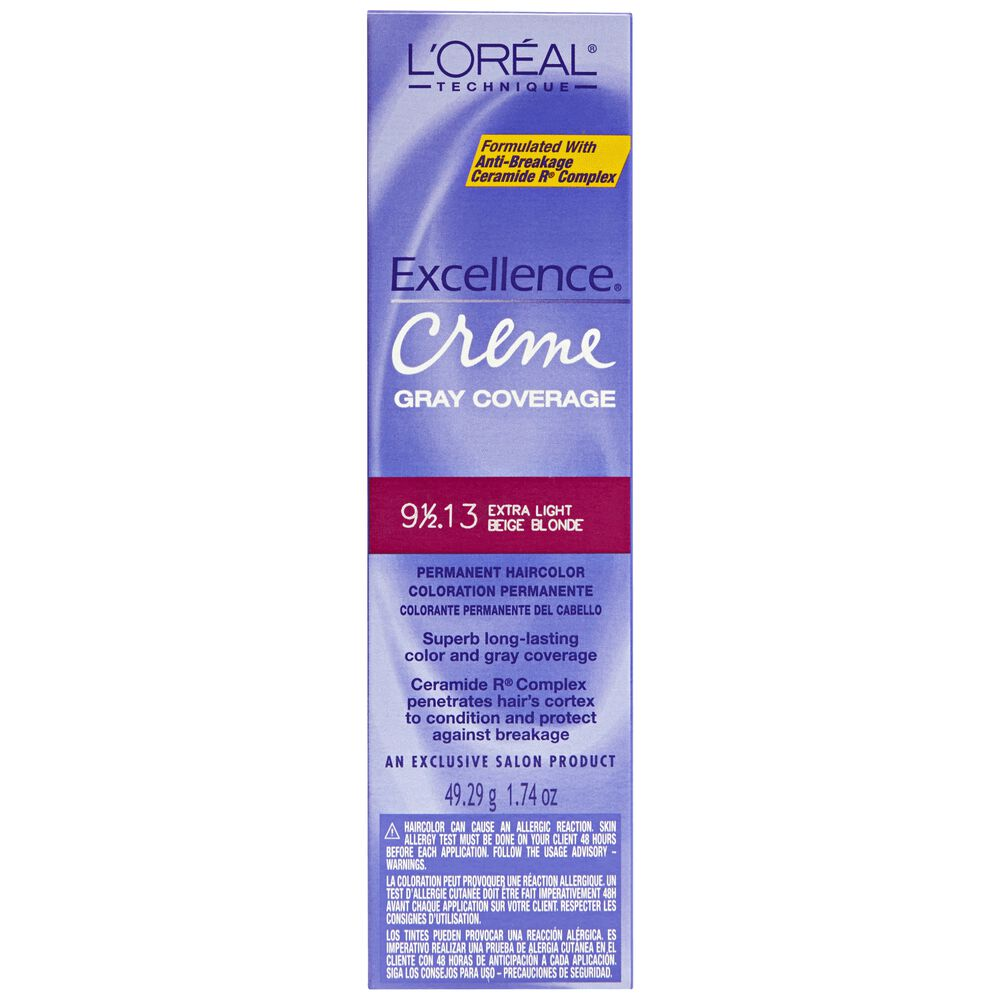 Loreal 3 Darkest Brown Natural Black Black Permanent Creme Hair