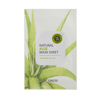 Natural Aloe Sheet Mask