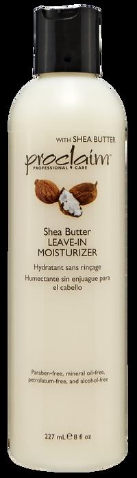 Shea Butter Leave In Moisturizer