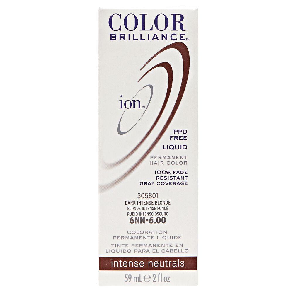 Ion Color Brilliance Intense Neutrals Liquid Permanent Hair Colors