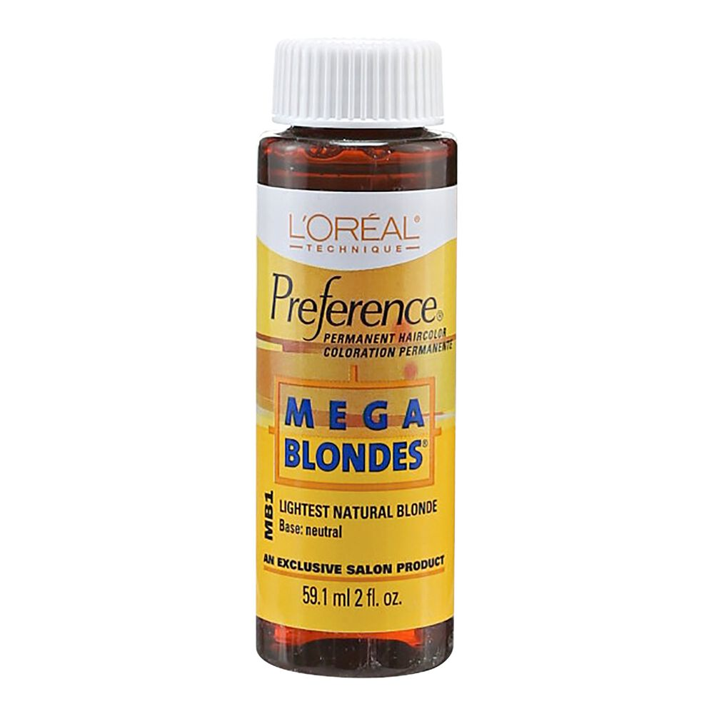 Loreal Mb1 Natural Blonde Permanent Hair Color By Preference