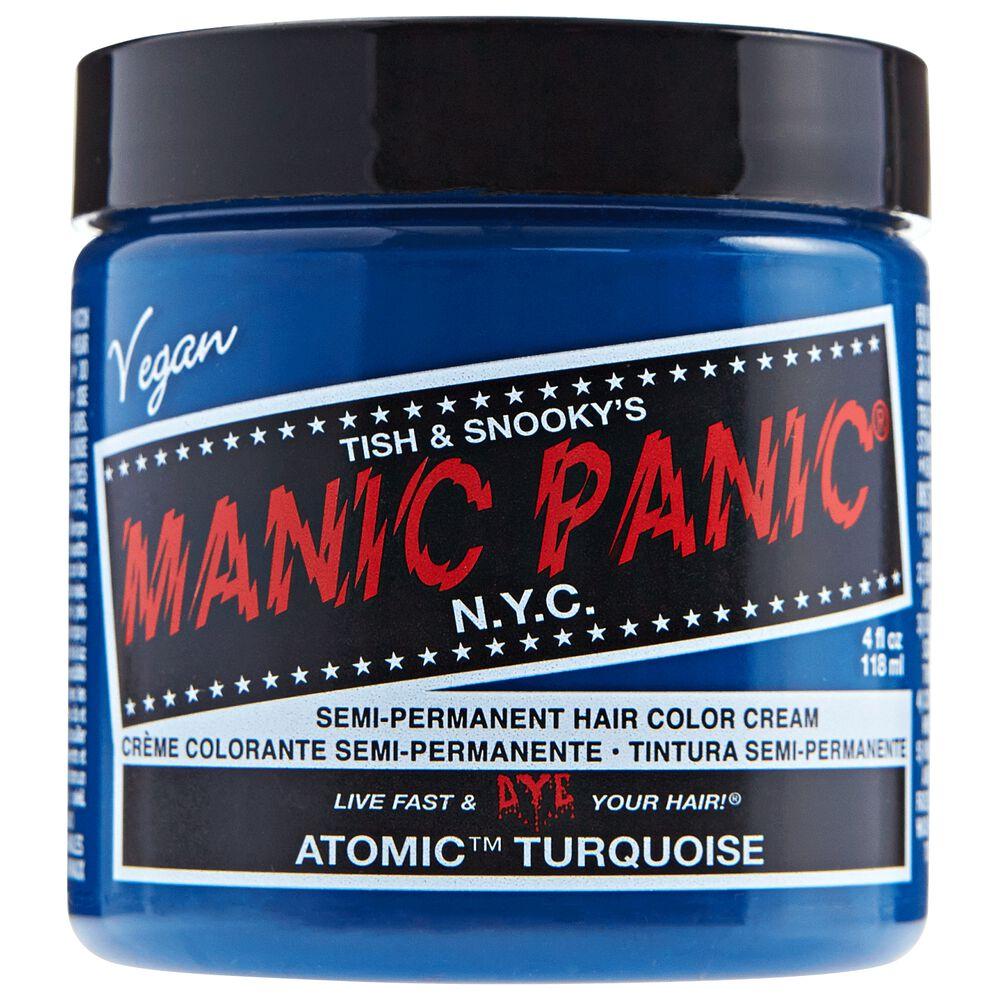 Atomic Turquoise Manic Panic Semi Permanent Hair Color Sally Beauty