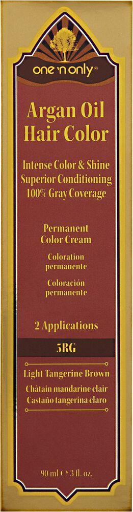 5rg Light Tangerine Brown Permanent Hair Color Cream
