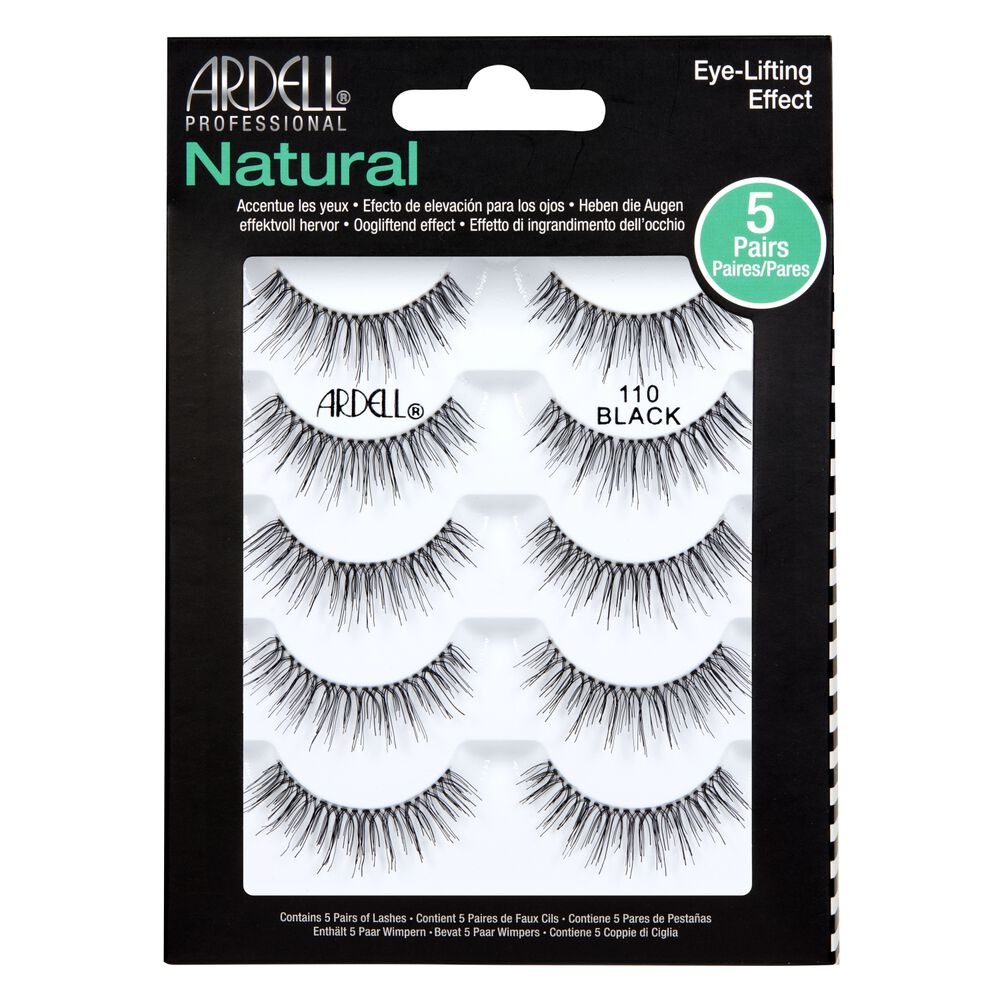 5 Pack Of 110 Black Lashes By Ardell Eyelash Extensions Sally Beauty