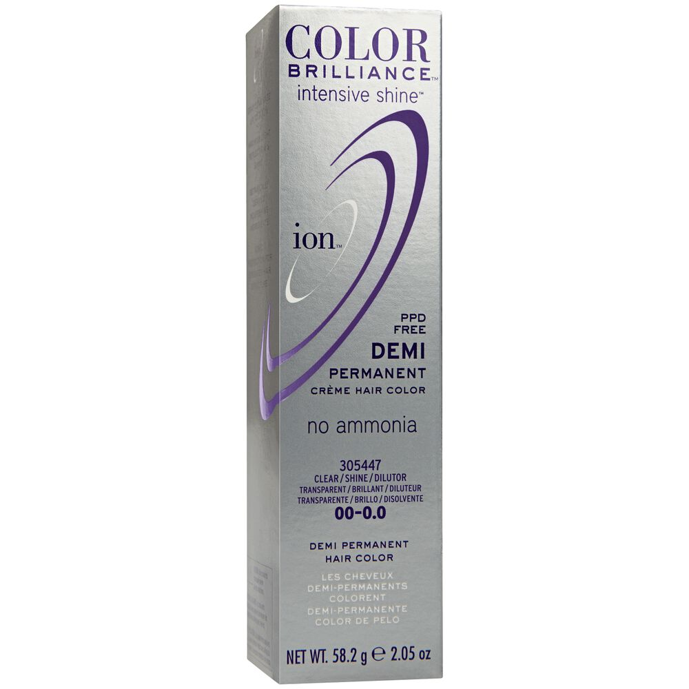Clear Ion Color Brilliance Demi Permanent Creme Hair Color Demi