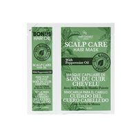 Scalp Care Hair Oil & Mask Packette with Peppermint