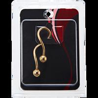 Gold Plated 14G Spiral