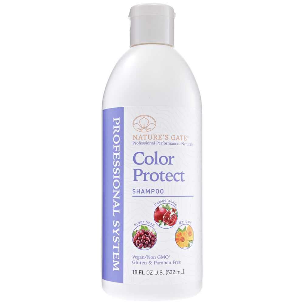 Color Protect Shampoo By Natures Gate Professional