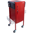 JLS-500 Metal Trolley Red
